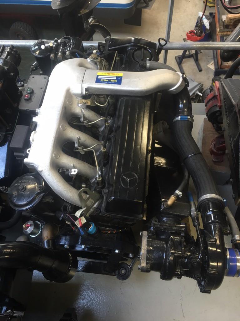 Mercedes Diesel Motoren - Drinkwaard Jachtservice